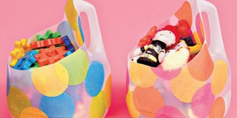 detalle reciclar envases detergente ropa