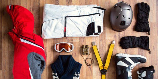lavar ropa de esquí